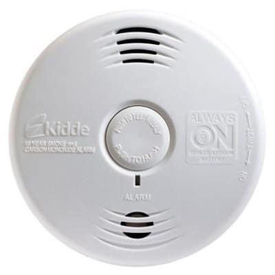 un détecteur de fumée chez vous